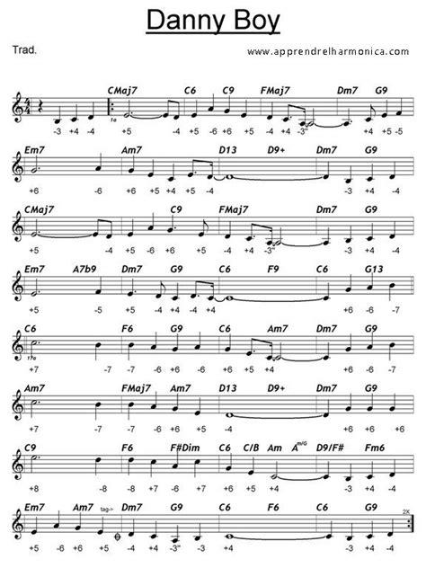 Hi bruno i am just getting started on harmonica. Danny Boy - Harmonica C   Mundharmonika, Noten, Musik
