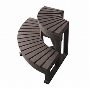 Echelle De Piscine Pas Cher : escalier d 39 angle pour spa 2 marches marron spalnea achat vente marche balneo escalier ~ Melissatoandfro.com Idées de Décoration