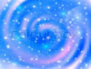 Light Blue Galaxy Space