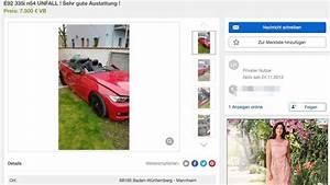Ebay Kleinanzeigen München Auto : mannheim k fertal raser unfall in mannheimer stra e bmw wird auf ebay kleinanzeigen angeboten ~ Eleganceandgraceweddings.com Haus und Dekorationen