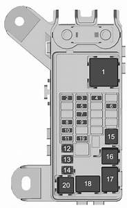 2005 Gmc Yukon Fuse Box Diagram