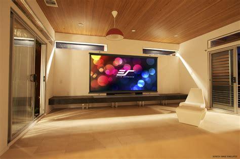 elite screens diy wall  series    indoor