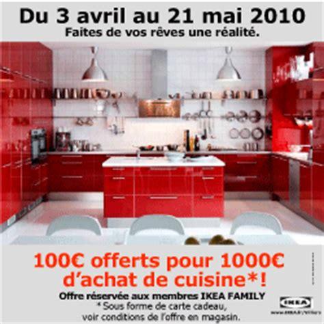 cuisine 1000 euros 100 euros de réduction pour 1000 euros d 39 achat en cuisine