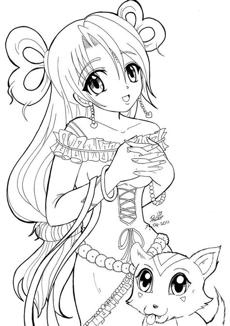 coloring pages  adults anime google search cute