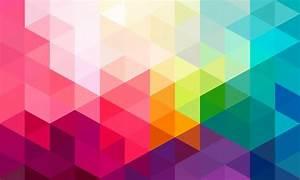 Papier Peint Motif Geometrique : poster mural motifs g om triques lumineux sur intiss ou ~ Dailycaller-alerts.com Idées de Décoration