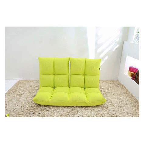canapé au sol canapé siège au sol duo par kartell design par