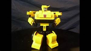 Lego Transformer - Bumblebee By Bwtmt Brickworks