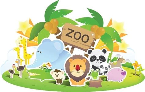 Free Clipart Of Zoo Animals Free Vector Download (9,932