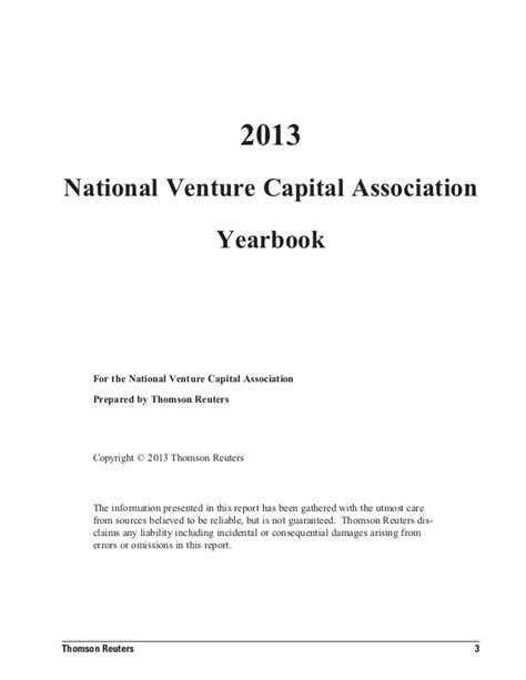 National venture capital association yearbook 2013