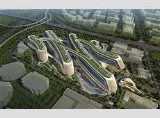 Design Sky SOHO In Shanghai, China by Zaha Hadid Architects