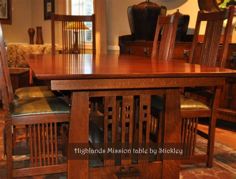 frank lloyd wright style home plans stickley mission craftsman dining room wichita by