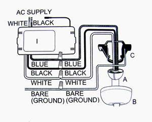 Wiring Diagram Remote Ceiling Fan by Ceiling Fan Remote