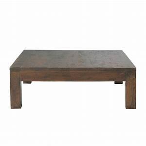Table Maison Du Monde : table basse en manguier massif l 100 cm bengali maisons du monde ~ Teatrodelosmanantiales.com Idées de Décoration