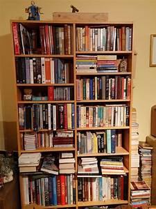 Big, Bookshelf, Clean