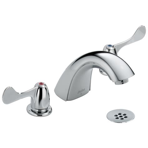 delta faucet two handle delta two handle widespread lavatory faucet 3549lf wfhdf