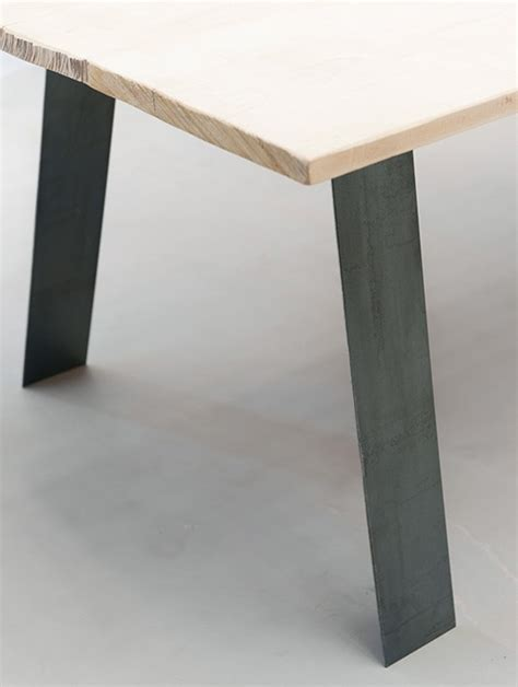Le Sur Pied Design Industriel by Gat 0 Fabricant De Pieds De Table Et Plateau En Bois Design