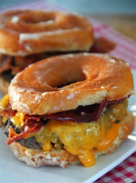 doughnut burger jo and sue donut bacon cheeseburger