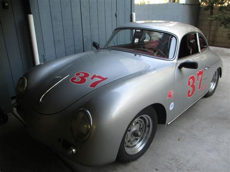 vintage porsche 356 1959 porsche 356 coupe vintage race car