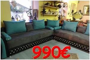 canape capitonne marocain avec strass en promo 100 With tapis oriental avec canape depot