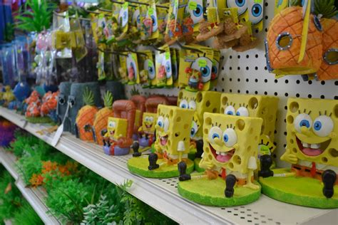 spongebob fish tank accessories aquarium decoration spongebob www imgkid the image