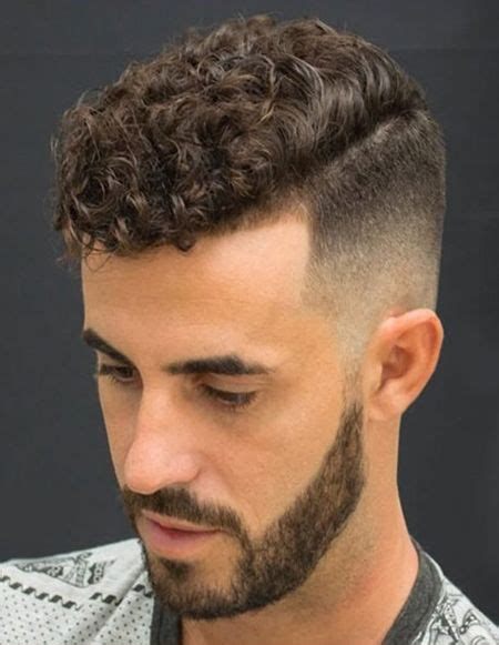 natural curly mens haircuts with strict fade men s hair
