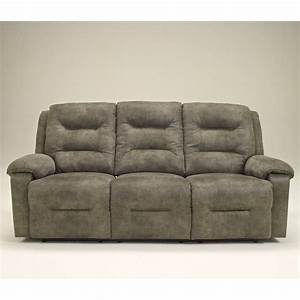 signature design by ashley furniture rotation microfiber With microfiber reclining sofa