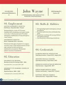 best exles of resumes 2017 resume 2017