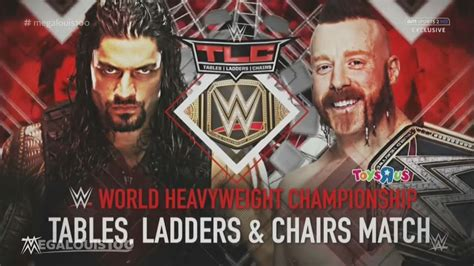 Wwe Tlc (tables, Ladders & Chairs) 2015 Full And Official