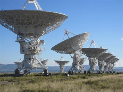 Very Large Array (VLA) - Eating New Mexico