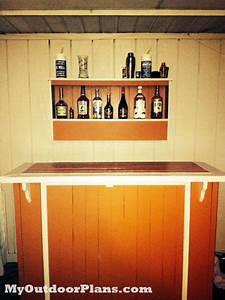 Designs Llc Diy Outdoor Bar Myoutdoorplans Free Woodworking Plans