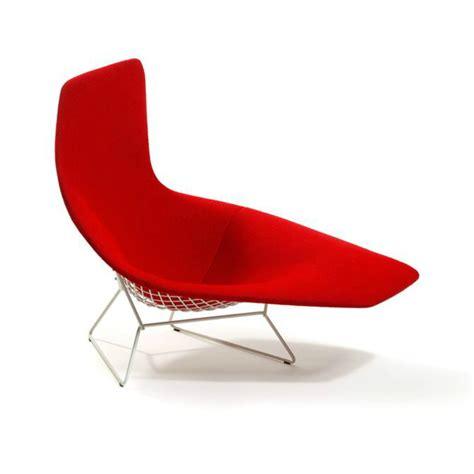 chaise knoll bertoia asymmetric chaise knoll
