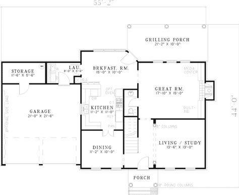 colonial style floor plans wheelwright colonial home plan 055d 0444 house plans and