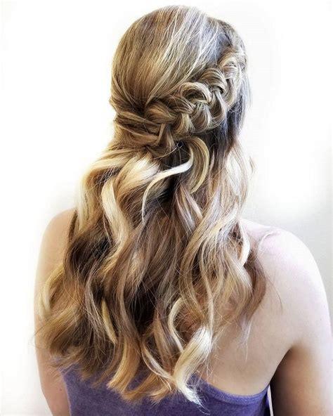 gorgeous waves  boho braid hairstyle perfect  beach