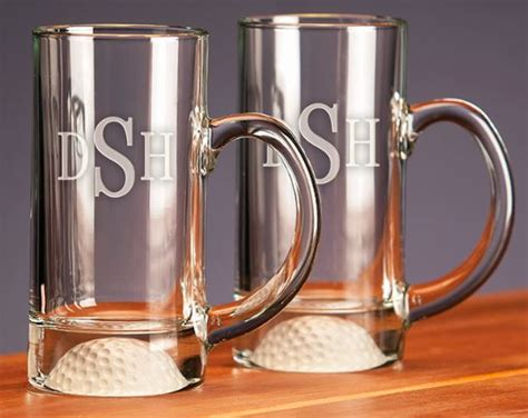 Personalized Fore Barware Beer Mugs