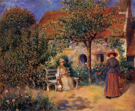 Garden Scene In Brittany 1886 Pierre Auguste Renoir