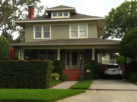 American Style Home Design American-foursquare