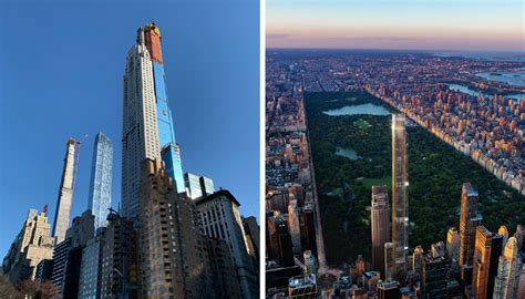 Central Park Tower Rises Above 432 Park Officially