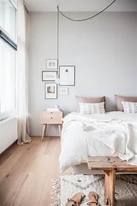 Chambre Rose Pale : d co chambre gris et rose pour un int rieur serein et doux ~ Melissatoandfro.com Idées de Décoration