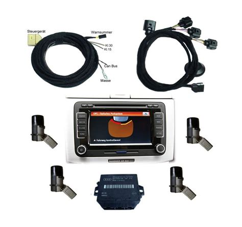 Optical Parking System Rear Retrofit For Volkswagen Polo