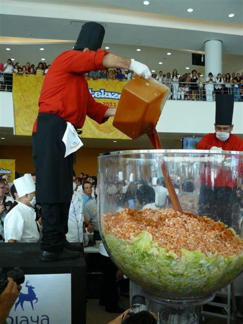 Largest Shrimp Cocktail Mazatlan Sets World Record