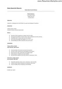 Exle Resume For Sales Associate by Store Associate Resume Sales Associate Lewesmr