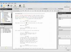 Lesser Known Applications for Linux — Screenwriting