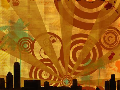 Retro  Free Abstract Wallpaper  Digital Revolutions