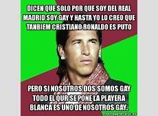 Meme Sergio Ramos dicen que solo por que soy del real
