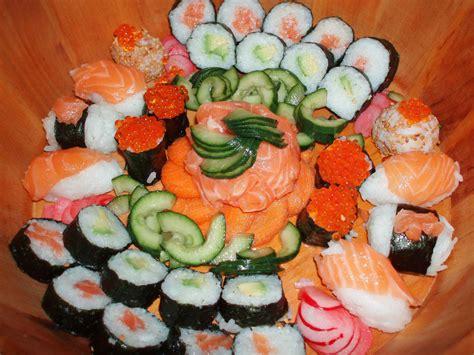 cuisine sushi sushi food photo 25785678 fanpop
