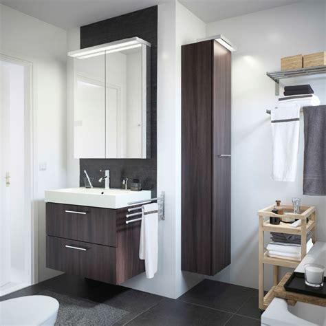 Ikea Badezimmer Wäsche by Ein Wei 223 Es Badezimmer Mit Godmorgon Waschbeckenschrank Mit