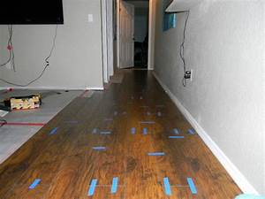 Diy laminate flooring installation hometalk for How to install glueless laminate flooring