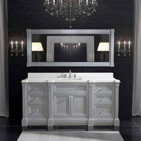 72 inch sink bathroom vanity 72 inch gray finish single sink bathroom vanity cabinet