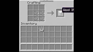 How, To, Craft, White, Wool, Minecraft, Tutorial