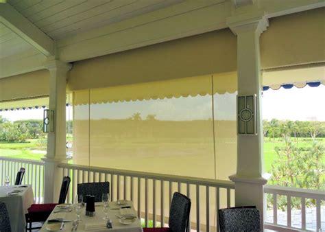 Roll Down Curtains & Screens